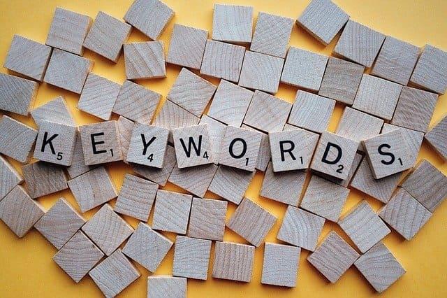 keywordを表す積み木の画像