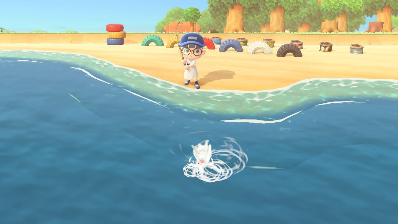 あつもりで釣りをしている画像