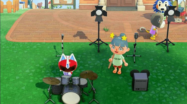 ドラム演奏する1ごうの画像